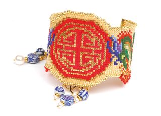 Prosperity dragon cuff