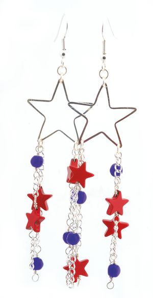Star earrings 2