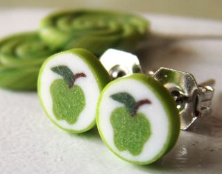 2-02-SK--Apple Candy Earrings